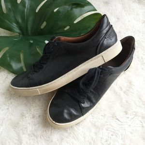 FRYE lace up loafers